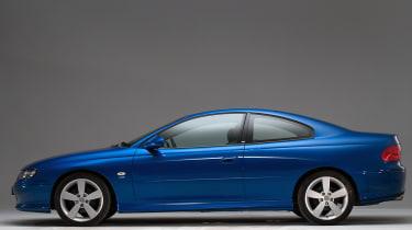Vauxhall Monaro side profile