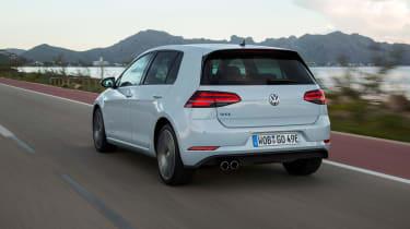 2017 Volkswagen Golf GTE - Rear