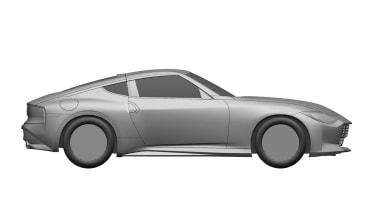 Nissan Z Proto patent side