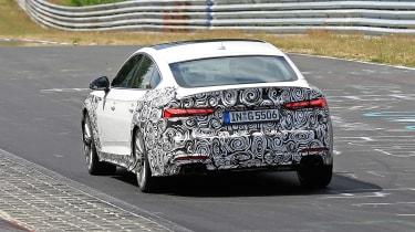 Audi S5 TDI Spy - rear