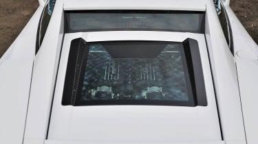 2013 Lamborghini Gallardo LP560-4 glass engine cover window
