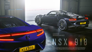 evo issue 233 - NSX vs 918