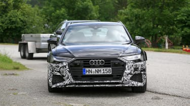 Audi RS6 Avant spy - front