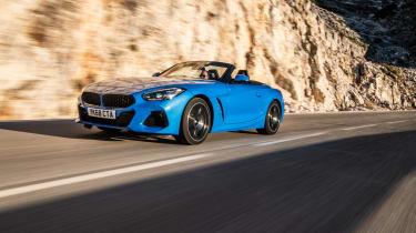 BMW Z4 20i - front quarter