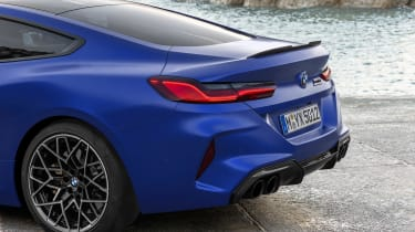 BMW M8 Competition - tail