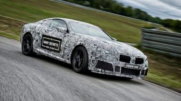 BMW M8 prototype - drive front