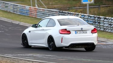 BMW M2 CS prototype - rear