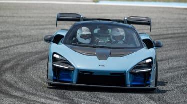 McLaren Senna track