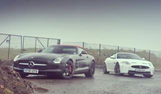 Jaguar XKR-S Convertible vs Mercedes SLS AMG Roadster