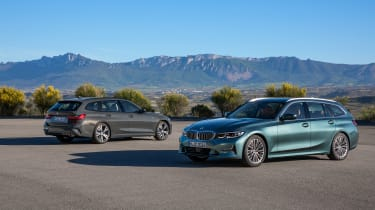 BMW 3-series Touring 2019 - static