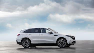 Mercedes EQC AMG-line - side