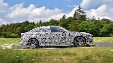 2019 BMW 3-series teaser - profile