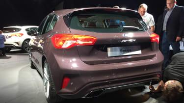 Ford Focus launch Vig - rear