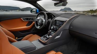 Jaguar F-type four-cylinder interior