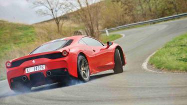 Ferrari 458 Speciale drift