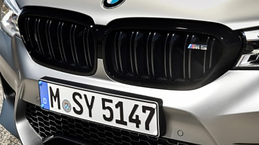 BMW M5 Competition review - grille