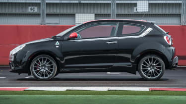 Alfa Romeo Mito Quadrifoglio Verde SBK side profile