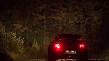 WRC Rally Wales - C3 rear