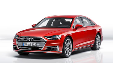 All-new Audi A8 - red