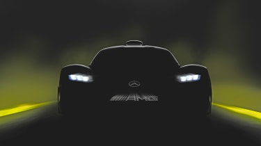 Mercedes Project One teaser