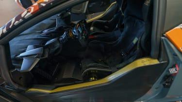 Lamborghini Essenza SCV12 – seats