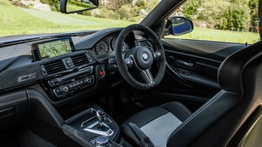 2018 BMW M3 CS - interior