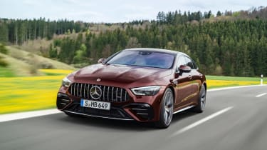 Mercedes-AMG GT53 MY22 – front tracking