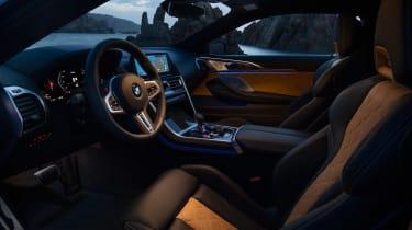 BMW M8 Competition - inteiror