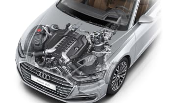 All-new Audi A8 - engine