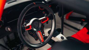 Singer Vehicle Design ACS - studio interior wheel