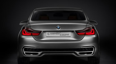 BMW 4-Series Coupe concept unveiled