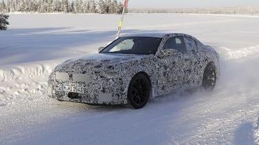 2022 BMW M2 spied quarter