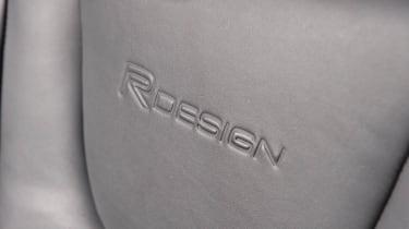 2013 Volvo S60 R-design Polestar seat logo