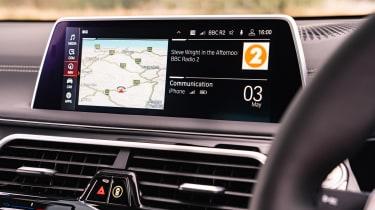 BMW 7-series 2019 screen