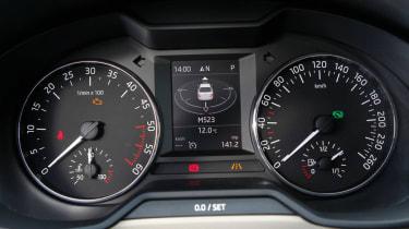 2013 Skoda Octavia dials