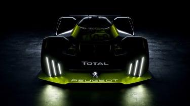 Peugeot Sport Hybrid4 500kW - nose