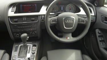 Audi S4 Avant interior