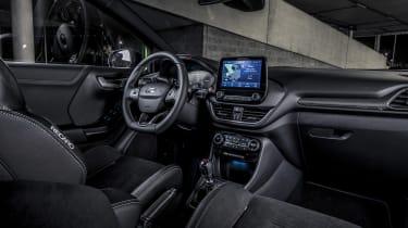 Ford Puma ST 2021 review – dash