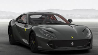 Ferrari 812 Superfast configured grey 3