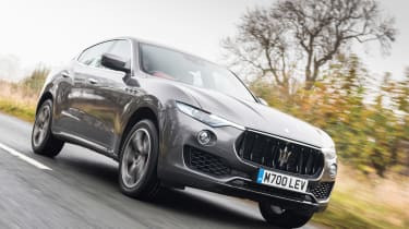 Maserati Levante - front three quarter