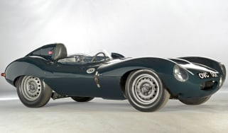 Jaguar D-type returns