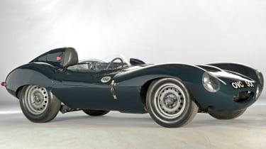 Jaguar D-type returns