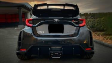 TOM'S Racing Toyota GR Yaris rear