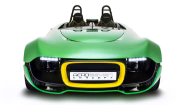 Caterham AeroSeven Concept sports car front view