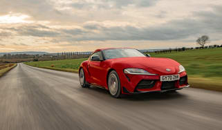 Toyota Supra 2.0 review - tracking