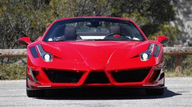 Ferrari 458 Spider Monaco Edition by Mansory front bumper