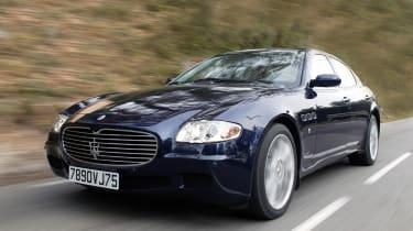 Maserati Quattroporte - front