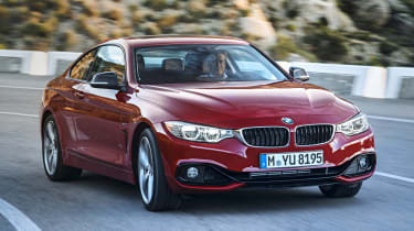 BMW 435i red front
