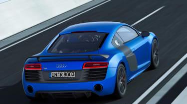Audi R8 LMX blue