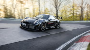 Manthey Racing 911 GT2 RS – tracking 1